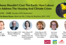 """LHG and SERA 2019 Conference Fringe: """"A home shouldn't cost the earth: How Labour can address the housing and climate crises"""""""